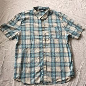 Vans blue toned short sleeve XL